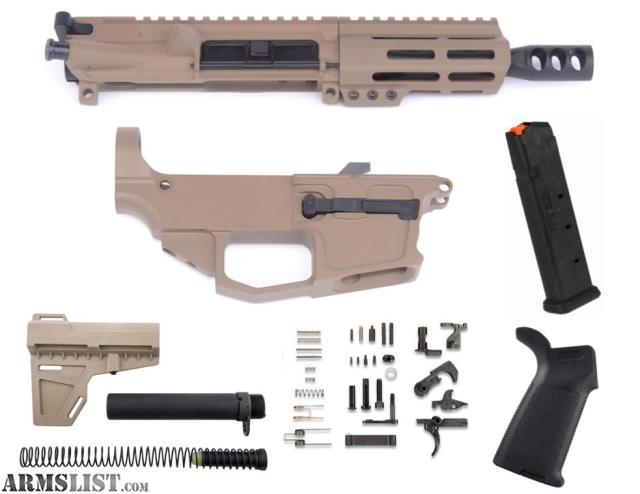 Anderson Pistol Lower Build Kit