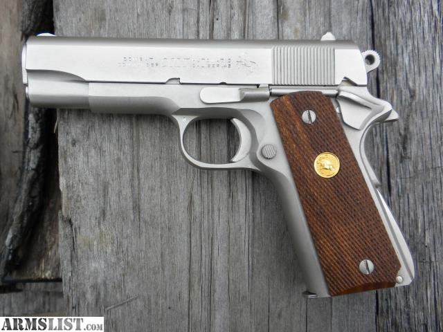ARMSLIST - For Sale: $$$REDUCED$$$ Colt Series 70 Satin ...
