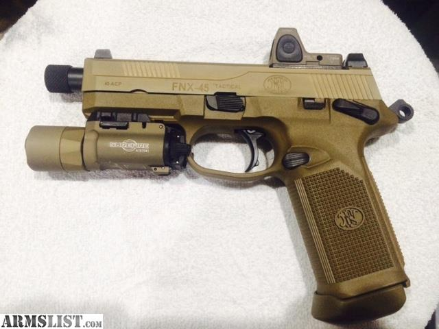 Armslist for sale fnh fnx 45 tactical