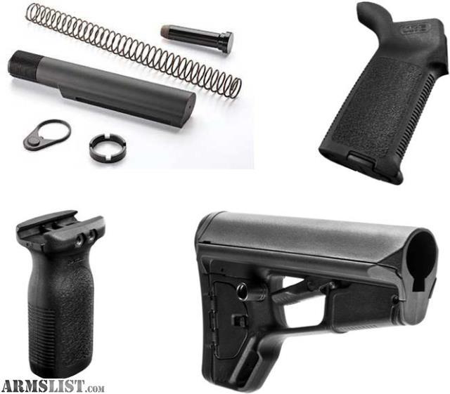 Armslist For Sale Magpul Furniture Acs L Stock Moe Grip Rfg Buffer Tube Set