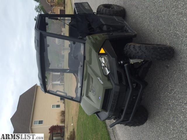 armslist for sale 2015 polaris ranger
