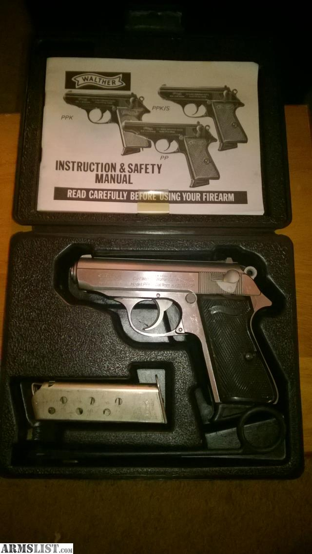 armslist for sale interarms walther ppk s 380 complete rh armslist com  walther pp user manual