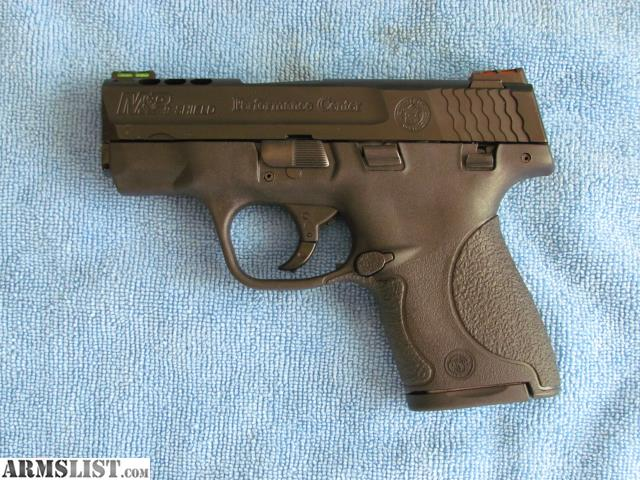 Armslist for sale smith wesson shield 9mm p c ported for M p ported shield 9mm