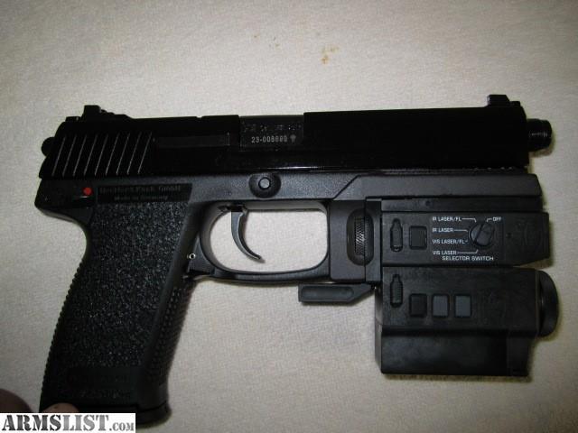 Armslist For Sale H Amp K Mark23 Wilcox Nightstalker Ir Lam