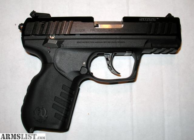 Armslist For Sale Ruger Sr22 22lr Pistol
