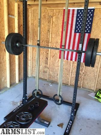 Armslist for sale rogue squat rack and weight set for Squat rack set