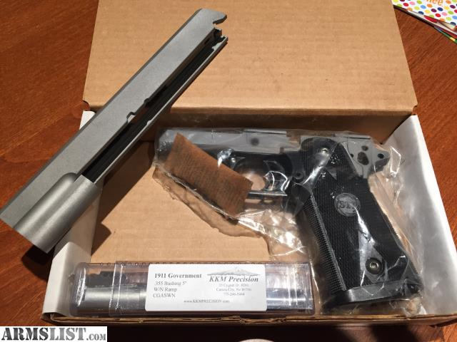 ARMSLIST - For Sale: STI 2011 Frame Kit, Slide, & 9mm KKM barrel
