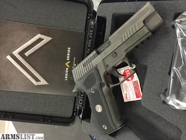 Armslist For Sale Sig Sauer P226 Legion 9mm