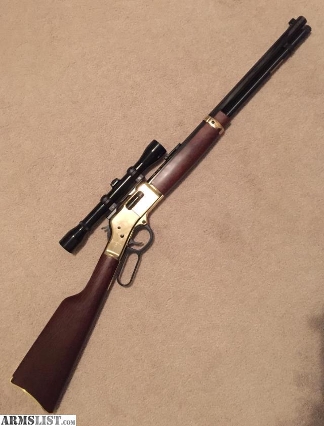 ARMSLIST - For Sale: Henry Big Boy .44 mag rifle w extras