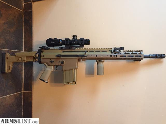 Selling a mint condition never fired fde fn scar17 chambered in 308 7