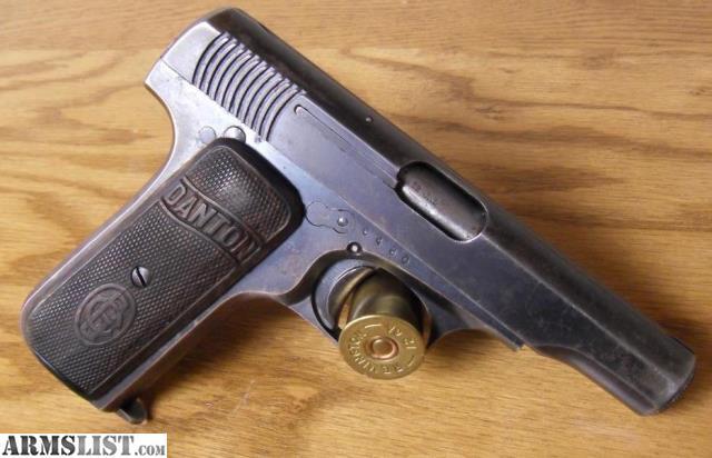 For Sale: Danton .32 ACP (7.65mm) Spanish