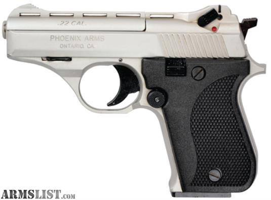 "Phoenix Auto Sales >> ARMSLIST - For Sale: New Phoenix Arms HP22N .22LR 3"" Semi Auto Pistol"