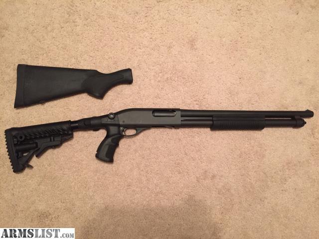 ARMSLIST - For Sale/Trade: Remington 870 Tactical Shotgun