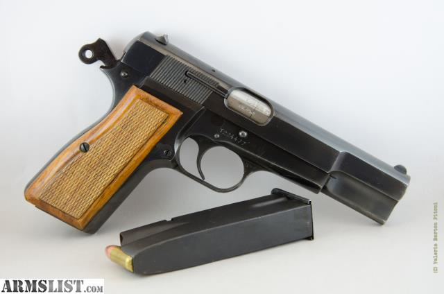Armslist for sale belgium browning hi power