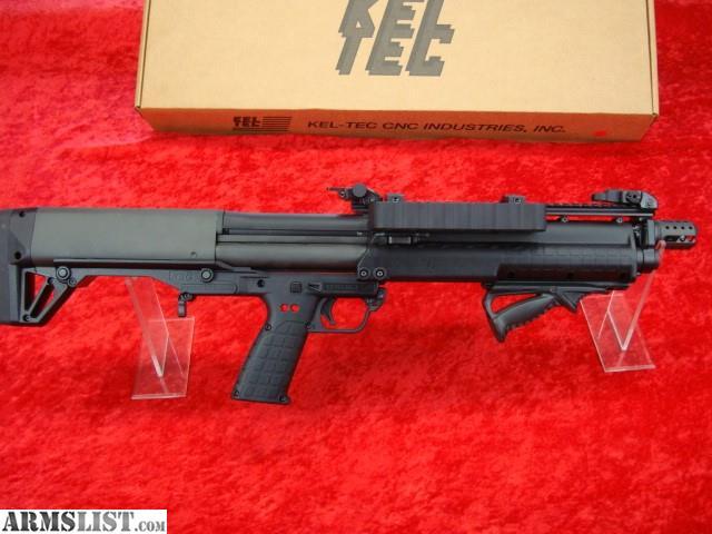 ARMSLIST - For Sale: KELTEC KSG FULL CUSTOM 12ga SHOTGUN ...