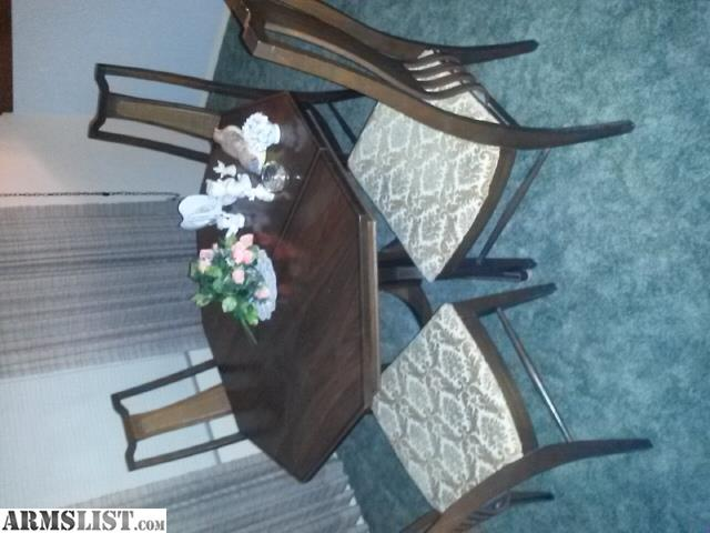 ARMSLIST For Trade China Cabinet And Dining Table Set