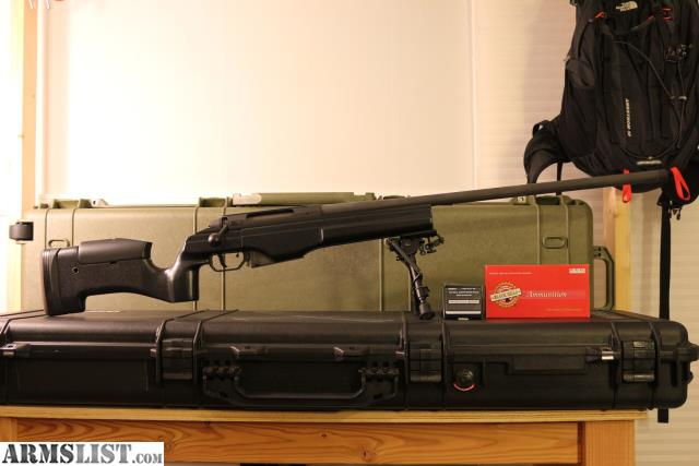 """For Sale/Trade: TRG-42 .338LM 1:10"""" Unfired W/low Profile Rail And 20 Rnds Of Ammo"""