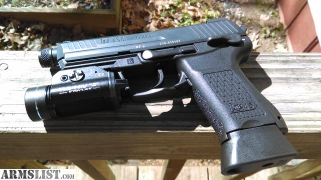 ARMSLIST - For Trade: HK45CT V3, HK45 Compact Tactical