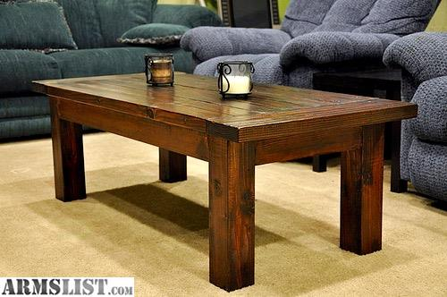 Armslist For Sale Trade Hand Made Living Room Coffee Table