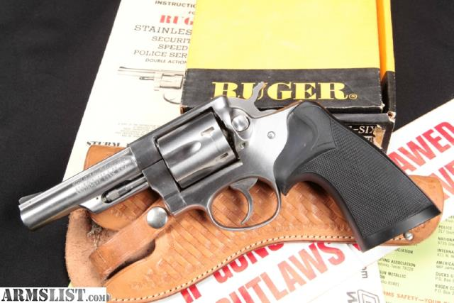 For Sale: Ruger Police Service Six Model
