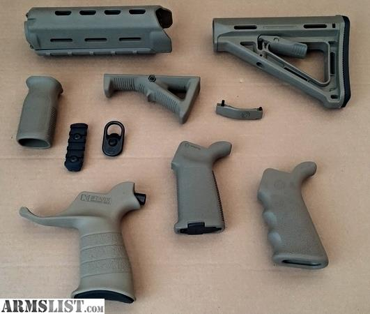 Armslist For Sale Complete Magpul Fde Furniture Set Plus More