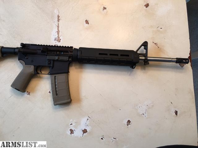 Armslist For Sale Custom Ar 15 Midlength 16 Quot With