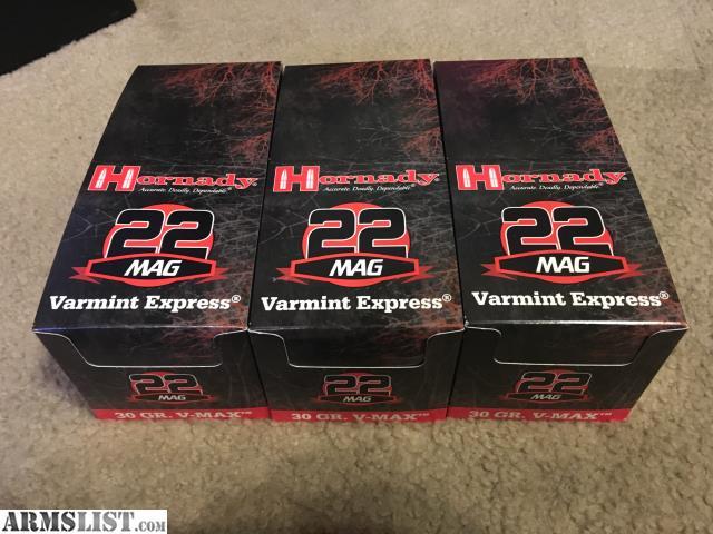 Armslist for sale 22 magnum ammunition