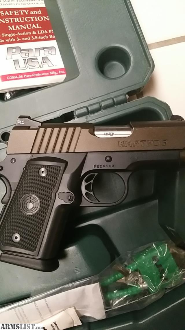 ARMSLIST - For Trade: Para warthog double stack 1911