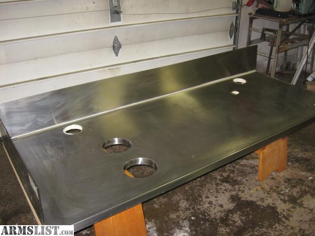 armslist for sale stainless steel restaurant counter top. Black Bedroom Furniture Sets. Home Design Ideas