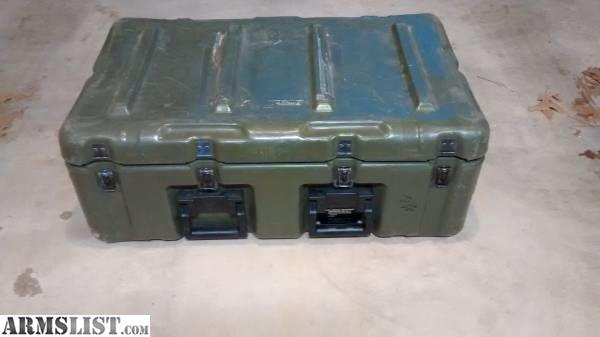 ARMSLIST For Sale Pelican Hardigg MEDCHEST3 tuff box storage