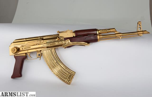 armslist for sale gold ak47