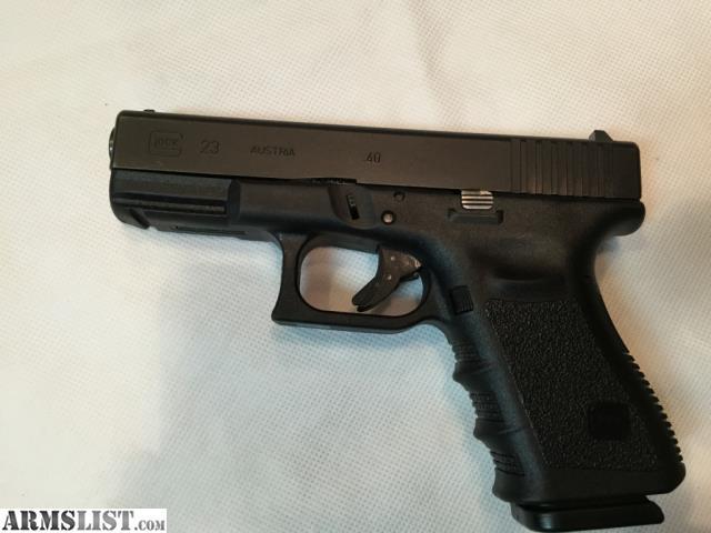 East Fayetteville Auto >> ARMSLIST - For Sale: Glock 23 Gen 3 .40 Caliber Semi-Auto Pistol
