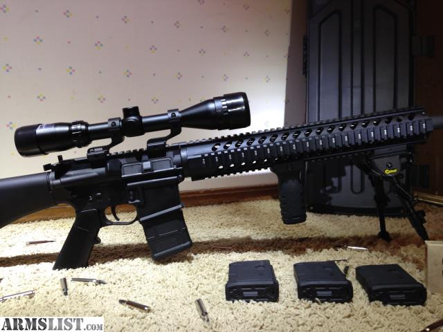 ARMSLIST - For Sale: AR 15 Varmint or Sniper rifle