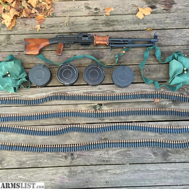rpd machine gun for sale