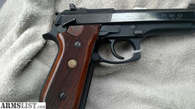 ARMSLIST - For Sale: Taurus pt101af 40 caliber pistol