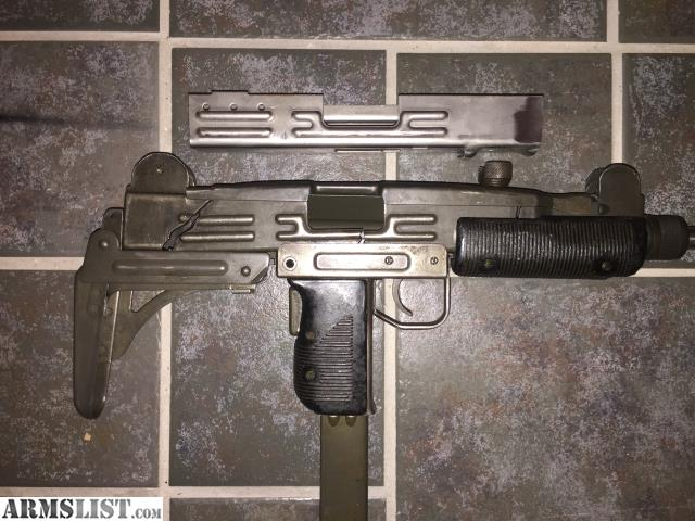 Build An Uzi From Parts Kit
