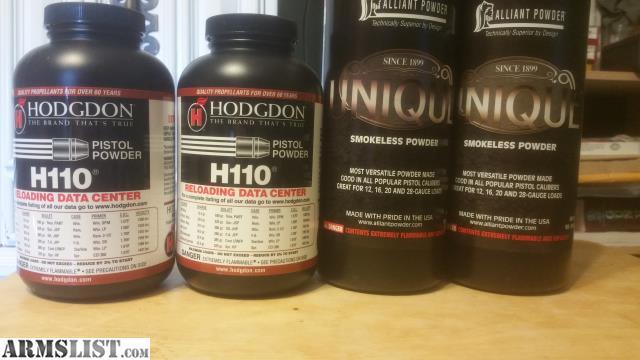 H110 Powder – Wonderful Image Gallery