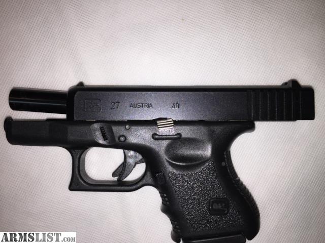East Fayetteville Auto >> ARMSLIST - For Sale: Glock 27 Gen 3 .40 Caliber Semi-Auto ...
