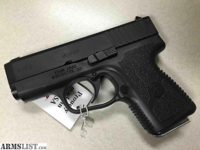Armslist For Sale New Kahr Cm9 Black Armor Noccfees