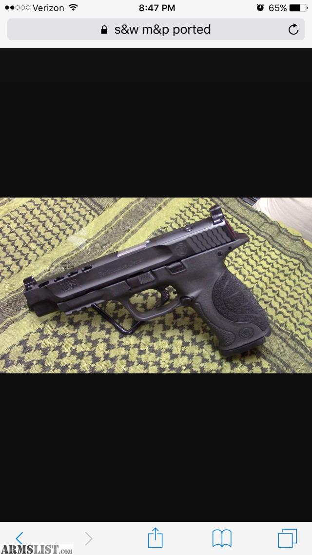 Armslist for sale s w m p ported performance center for M p ported core 9mm