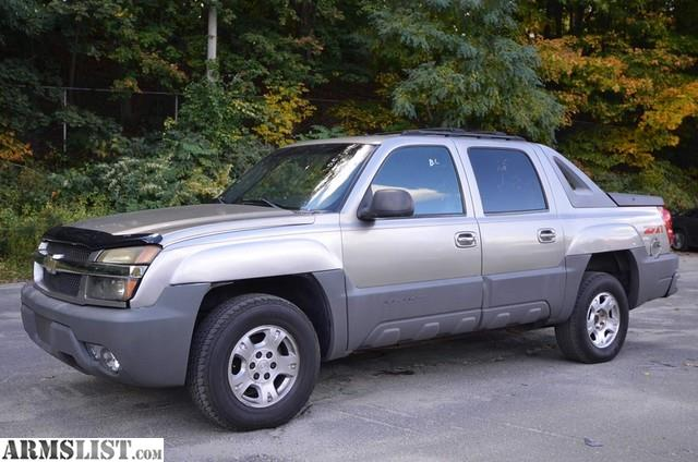 armslist for sale 2002 chevrolet avalanche. Black Bedroom Furniture Sets. Home Design Ideas