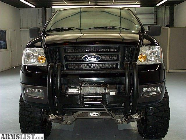 armslist for sale 2005 ford f 150 supercrew fx4 4x4 lifted winch leather truck. Black Bedroom Furniture Sets. Home Design Ideas