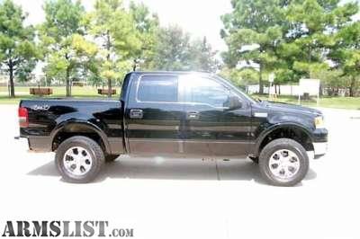 armslist for sale 2005 ford f 150 4x4 lariat custom wheels tires truck. Black Bedroom Furniture Sets. Home Design Ideas