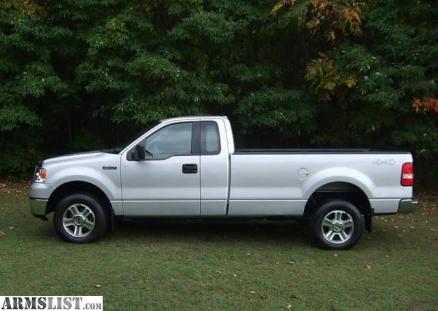 armslist for sale 2006 ford f 150 xlt 4x4 long bed silver. Black Bedroom Furniture Sets. Home Design Ideas