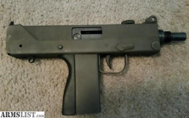 ARMSLIST - For Sale: Cobray M11/Nine Mac 10 M10 9mm Pistol ...