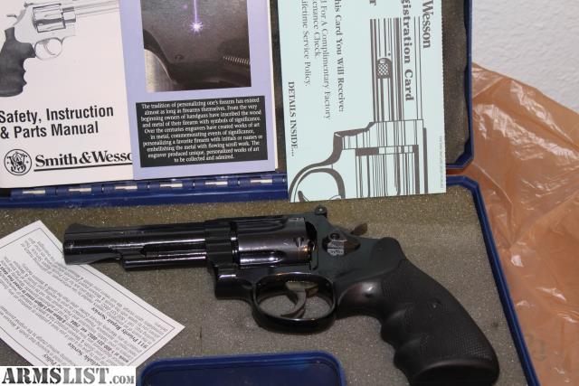 armslist for sale s w model 19 8 38 special 4 barrel special rh armslist com S&W Model 686 Smith and Wesson 357 Model 19