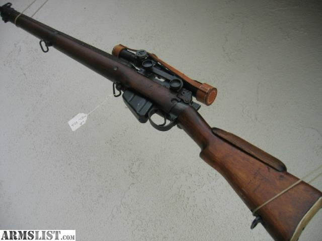 for sale enfield no4 mk1t sniper made by long branch in 1945