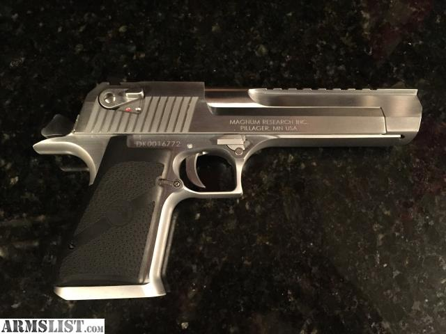 ARMSLIST - For Sale: Desert Eagle .357 Magnum Brushed Chrome