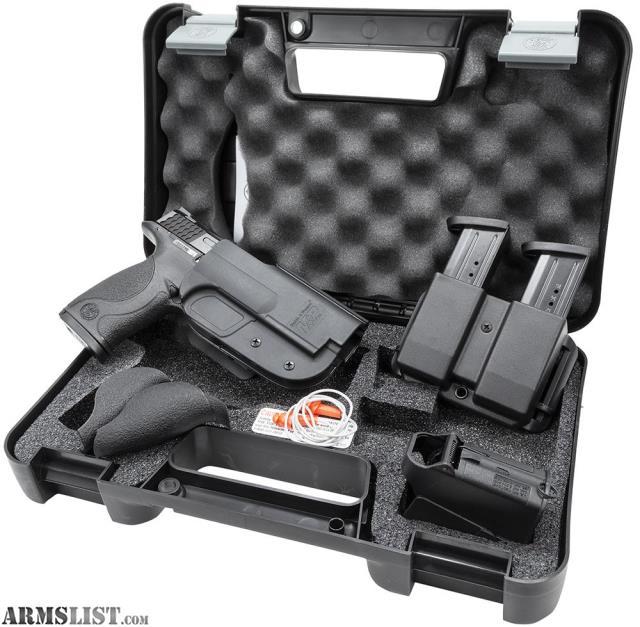 For Sale: M&P 9 Range & Carry Kit W/ Apex Trigger