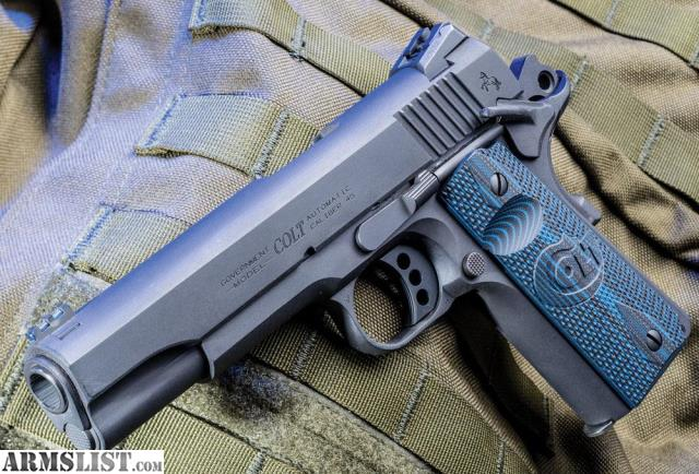 Armslist For Sale Colt Competition 1911 9mm Or 45 Nib